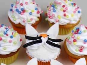 Cupcake per Pasqua: un grazioso coniglietto