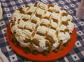 la mia prima torta di compleanno