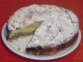 torta di mele biscottosa