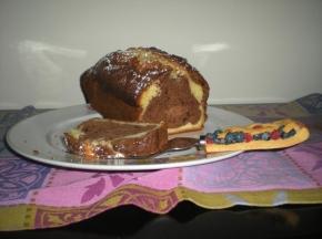 Plum cake agli agrumi e cacao