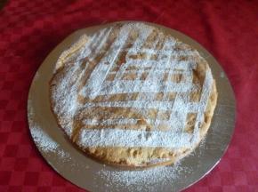 torta ripiena di mele