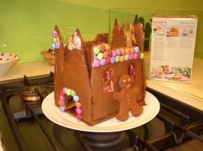 Halloween chocolate castle