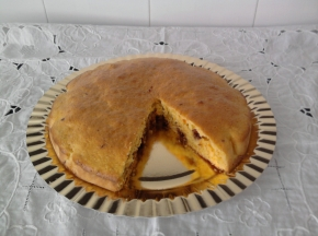 TORTA CAROTE,CIOCCOLATO E COCCO