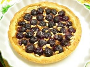 Crostata con l'uva