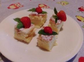 Torta magica tricolore