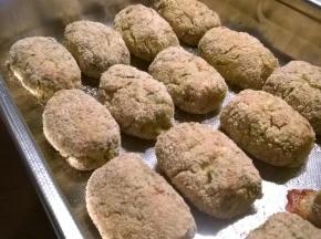 crocchette di patate, zucchine e tonno al forno