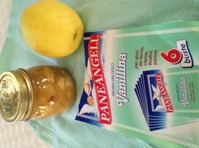marmellata mele e vaniglia