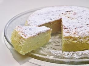Cotton cake, o cheesecake giapponese, alla vaniglia