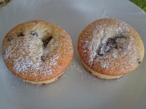 Muffin cuor di cioccolato