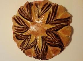 Fiore di panbrioche alla Nutella
