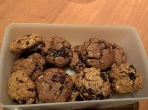 Cookies con farina d'avena