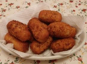 Crocche' con fiocchi di patate