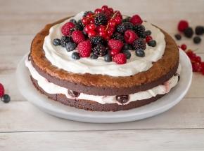 Naked Cake Foresta Nera