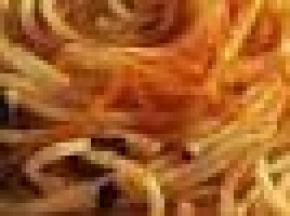 Spaghetti natalizi agli agrumi
