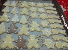 Biscottini natalizi senza burro