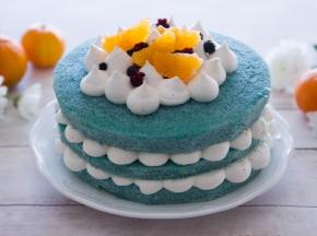 Torta Blue Velvet