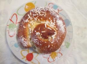 chiocciole alla crema e gocce di cioccolato (2° Sfida Culinaria)