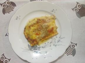 pasta al forno di kamut ai funghi