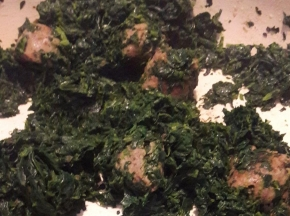 Spinaci e salsiccia