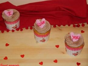 Cupcake cocco e nutella