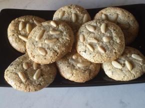 Biscotti al the matcha (senza glutine e lattosio)