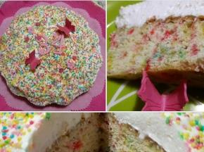 Funfetti Cake (Ricetta della Blogger Torte delle mie brame)