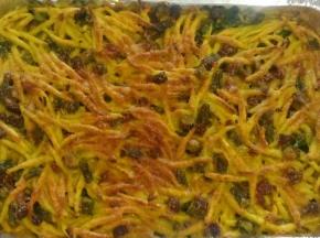 Trofie asparagi e speck gratinate