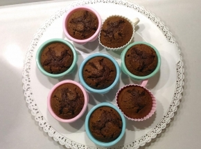 Muffin super cioccolatosi