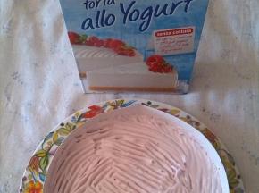 Torta allo yogurt frutti di bosco