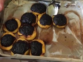 Pesche ripiene al forno