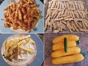 Zucchine finte fritte