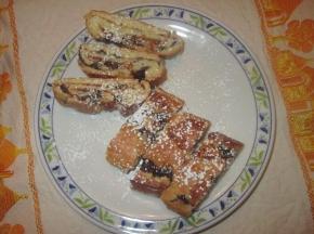biscotti strudel albicocche e cioccolato