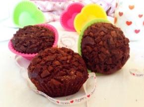 Muffin doppio cioccocacao