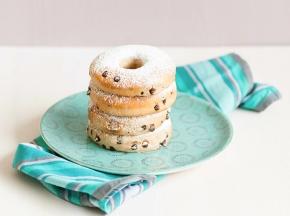 Donuts con gocce di cioccolato