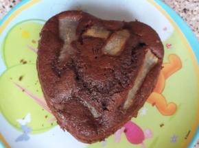 Mini torta pere e cioccolato