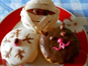 7°DOLCE SFIDA CULINARIA HALLOWEEN dolce/salato Cupcake mostruosi