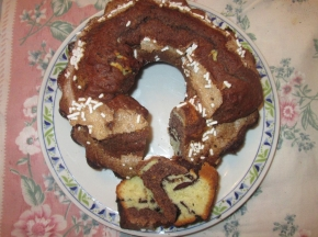 ciambellone super cioccolatoso