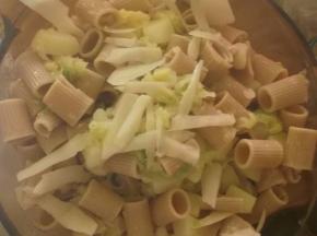 pasta con foglie del cavolo
