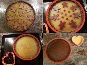 Crostata al cacao con marmellata