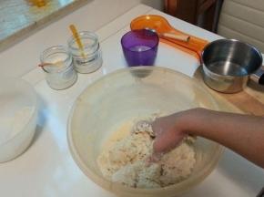 Impasto per la pasta dei pidoni