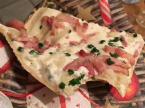 Tarte Flambée - pizza alsaziana
