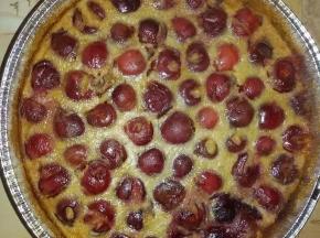 Torta di ciliege soffice