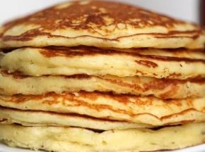 Pancake alla crema di pistacchio