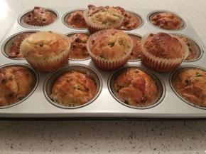 Muffin con pise