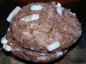 Biscotti al cacao ripieni