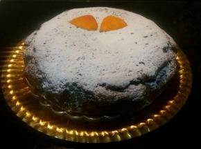 torta cioccolato fondente e arancia