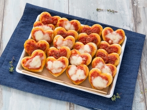 Pizzette a cuore