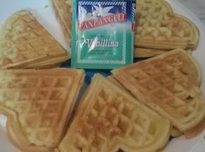 waffle senza burro