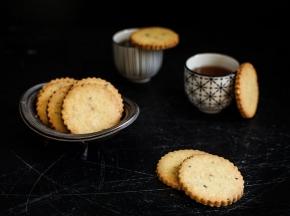 Biscotti al limone e nocciole