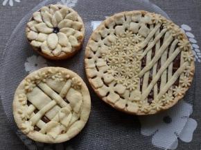 crostatine marmellata e nutella